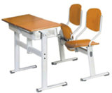 Hot Sales Campus Desk and Chair