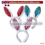 Party Decoration Rabbit Ears Headband Holiday Decor (P4009)