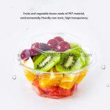 Diamond Disposable Transparent Plastic Food Containers for Fruit Salad