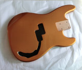Metallic Gold 2 Piece Alder 4 String P Bass Body