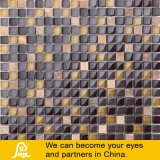 Marble Brown Mix Crystal Glass Mosaic 01