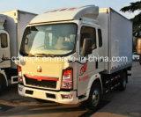 Double Cabin Sinotruk HOWO 4X2 3 Ton Light Truck