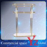 Display Stand (YZ161703) Display Rack Stainless Steel Display Shelf Hanger Rack Exhibition Rack Promotion Rack