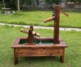 Garden Barrel Pump Fountain Water Feature Cascade Outdoor