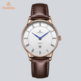 Customized Logo Cheap Price Watch Japan Miyota Movt Stainless Steel/Genuine Leather/Nylon Men′s Watches 72012