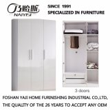 Bedroom Furniture 3 Doors Wardrobe with Fashion Design (W-2)