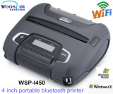 110mm Mini Handheld Bluetooth Mobile Printer/Small Wireless Mobile Android Thermal Woosim Wsp-I450