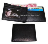 Customized Imitation Leather Thin Wallets for Promotion
