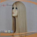 Human Blond Untouched Cuticle on Hair Women Topper Hair Piece