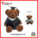 Brown Plush and Stuffed Teddy Bear for Graduation