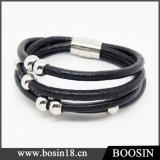 Handmade Braided Rope Knot Leather Bracelet