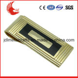 50*25mm Size Bronze Material Plating Gold Money Clip