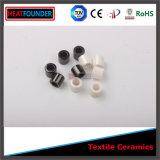 Polished Black Titania Textile Ceramic Eyelet