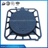 OEM Cast Iron Casting Drainage Road Cover with Ductile/Grey