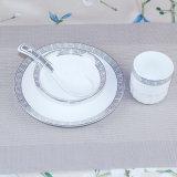 18PCS Ceramic Dinnerware Set Fine Porcelain China Tableware