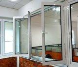 Non-Thermal Break Aluminum Bi-Fold Glass Window with Ce (TS-1111)