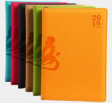 2016 Debossed Logo Leather Notebooks