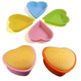 Hot Selling Bakeware Silicone Heart-Shape Cake Mould Cake Pan