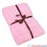 Pink Soft Microfiber Terry Bath Towel
