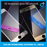 3D Electroplating Tempered Glass Screen Protector for iPhone6