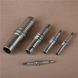 Hydraulic Fitting Double Connector Carbon Steel