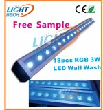18X3w RGB LED Wall Washer Outdoor Light