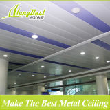 2017 Fashionable C-Shaped Suspended Industrial Aluminum Panel Strip Ceiling Tiles