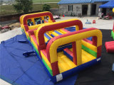 2016 New Design 0.55mm PVC Inflatable Giant Obstacle Course
