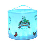 Christmas Colored Solar Lantern (pattern can be customized)