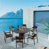 2016 Hot Sale Garden Chairs and Tables Outdoor Furniture Dining Set for Six People (YTA581&YTD121)