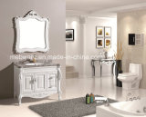 White Painted High Quality Bathroom Vanities with Mirror