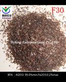 Het bruine Oxyde van het Aluminium voor het Oppoetsen van de Producten van het Roestvrij staal