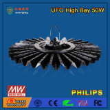 110-130lm/W 50W hohes Bucht-Licht der Leistungs-LED für Warehouse