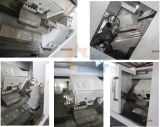 Ck40L CNCの旋盤12端末の生きているタレットの工作機械