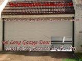 Uma porta de aço da garagem da camada - Não-Isolada & automatização
