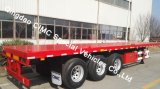 Cimc Flatbed Semi Aanhangwagen van de Vrachtwagen 40feet