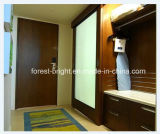 Type de grange d'hôtel de la Chine Marriott porte en verre de glissement pour la salle de bains d'hôtel