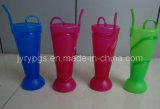 Partito Plastic Cup Straws con Multiple Colors