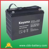 batterie profonde de gel de cycle de 12V 135ah pour solaire