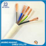 2, 3, 4, 5core H05VV-F Rvv Kabel mit SGS genehmigten