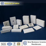 Fodera di ceramica delle mattonelle dell'allumina di industria di Chemshun per protezione Manufactueres di usura
