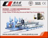 Производственная линия трубы замотки HDPE спиральн/машина трубы Krah