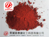 Alto Purity Synthetic Pigment Iron Oxide Red para Glass Industry