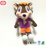Figura giocattolo farcito stampato del fumetto dei bambini dello scoiattolo famoso della bambola Nizza