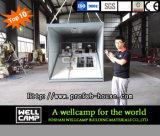 Chambre se pliante préfabriquée de conteneur de type neuf de Wellcamp
