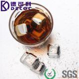 Le froid de la meilleure qualité de whiskey lapide le glaçon promotionnel de pierres de whiskey de cadeaux