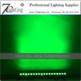 Barra do diodo emissor de luz do diodo emissor de luz 18X15W de RGBWA com Powercon
