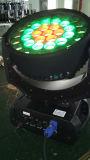 급상승 초점 기능을%s 가진 새로운 직업적인 풀 컬러 37*10W RGBW 4in1 LED 이동하는 맨 위 세척 효력 벽 세탁기