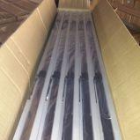 De hete Raamkozijnen van de Luifel van het Aluminium van de Verkoop met Dubbele Staaf, de Vaste die Luifel van de Schommeling van het Aluminium in China Alw001 wordt gemaakt