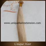 O melhor extensões lisas desenhadas do cabelo da ponta da venda por atacado da qualidade dobro